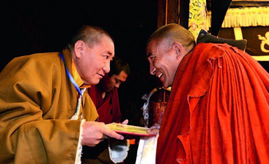 El desarrollo del budismo tibetano