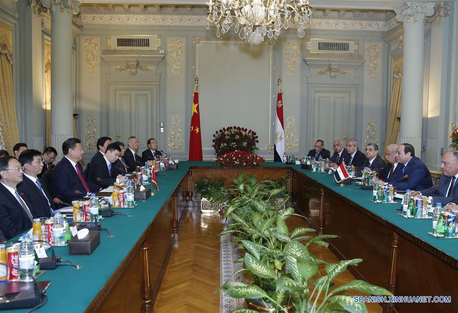 China y Egipto buscan mejorar intercambios entre pueblos