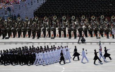 2015年9月3日,纪念中国人民抗日战争暨世界反法西斯战争胜利70周年大会在北京隆重举行,墨西哥军队方队。_副本