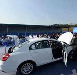 Firmas chinas Geely y Corun cooperan en tecnología de autos de energía nueva