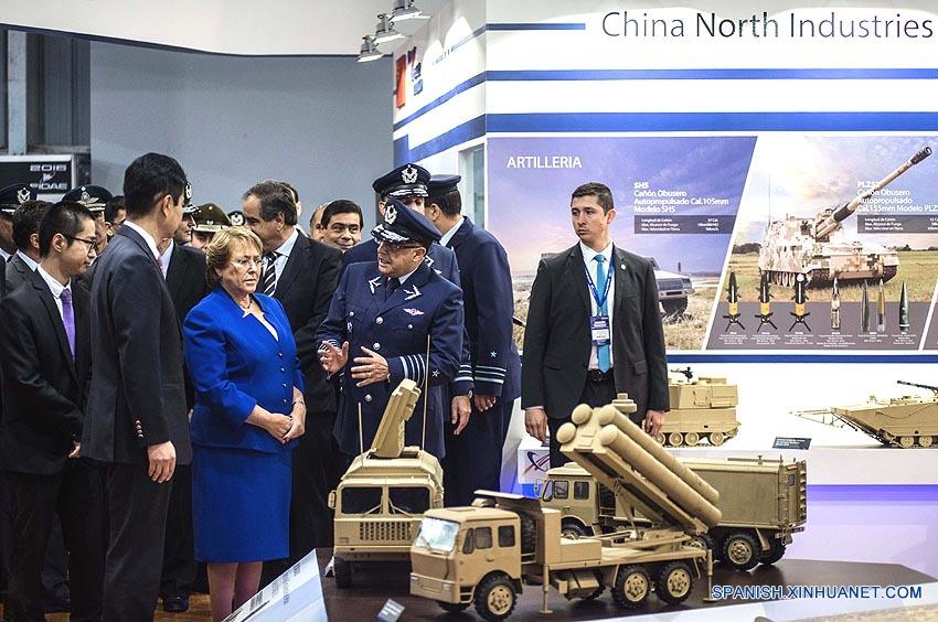 Empresa china participa en Feria Internacional del Aire y del Espacio (FIDAE) de Chile