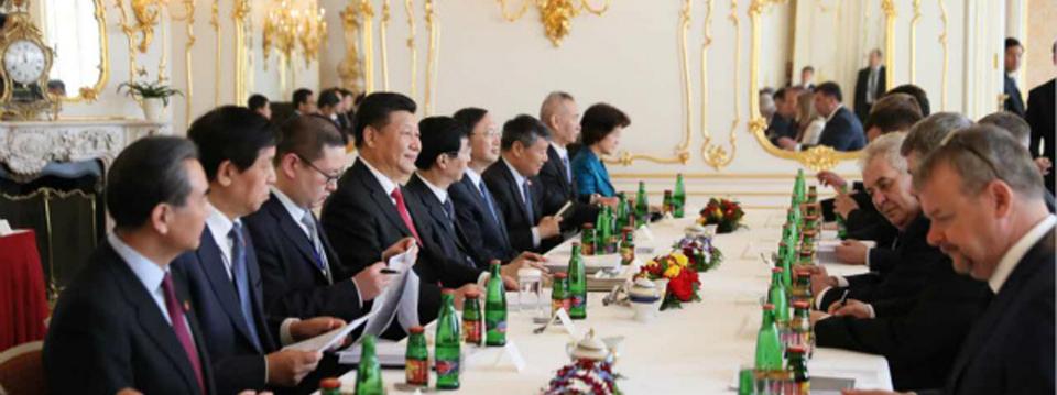 Presidente chino llega a República Checa para visita de Estado