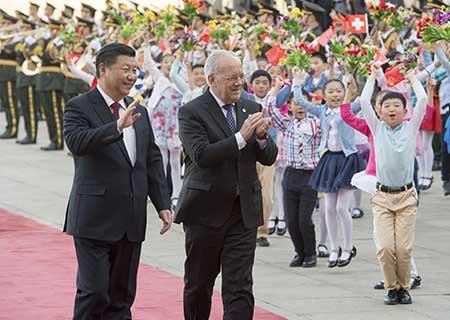 China y Suiza establecerán asociación estratégica innovadora