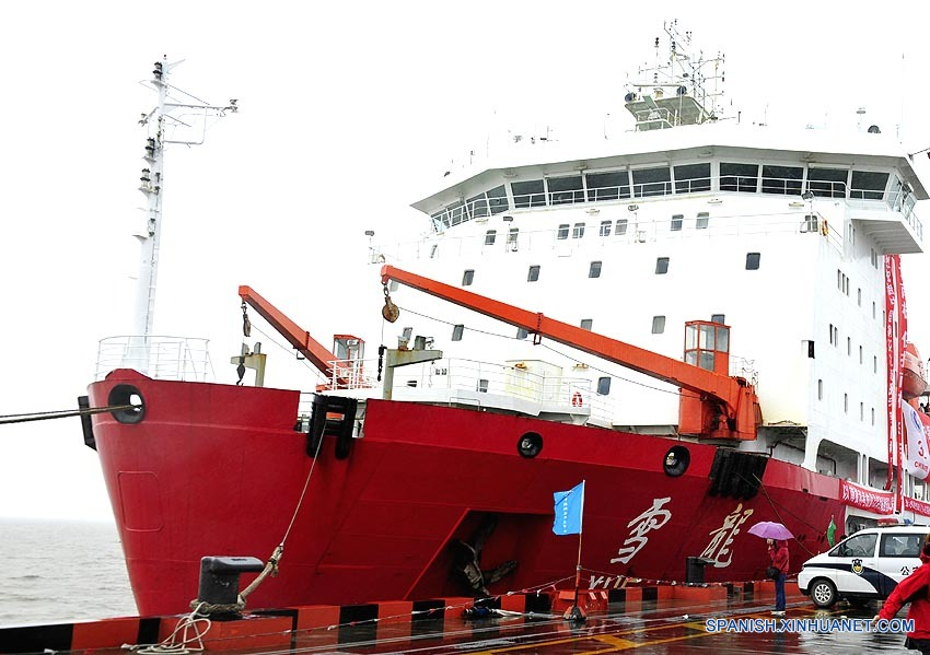 Científicos chinos completan 32a expedición a Antártida