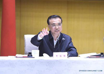 CHINA-BEIJING-LI KEQIANG-TELECONFERENCE (CN)
