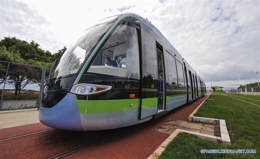 Tranvías están en funcionamiento experimental en 2017 en Yunnan