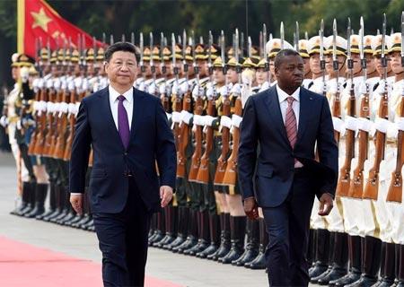 Presidentes chino y togolés acuerdan elevar cooperación