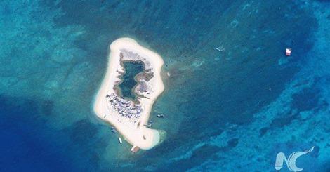 La soberanía indiscutible sobre Mar Meridional de China