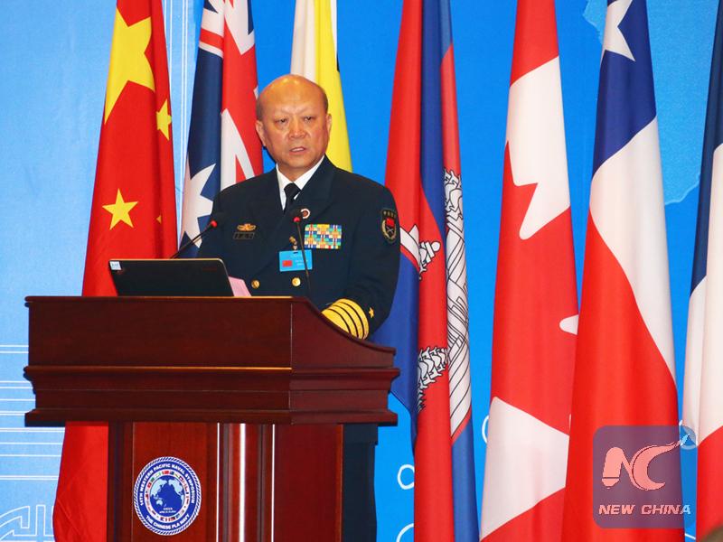 Jefe de armada de EPL pide cooperación China-EEUU en manejo de asunto de Mar Meridonal de China