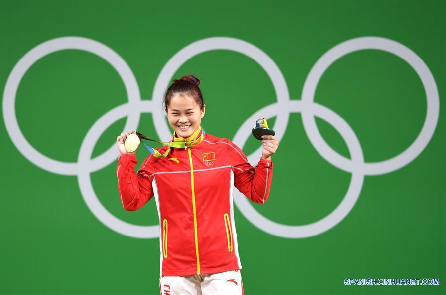 Río 2016: Deng Wei de China rompe récord mundial en halterofilia