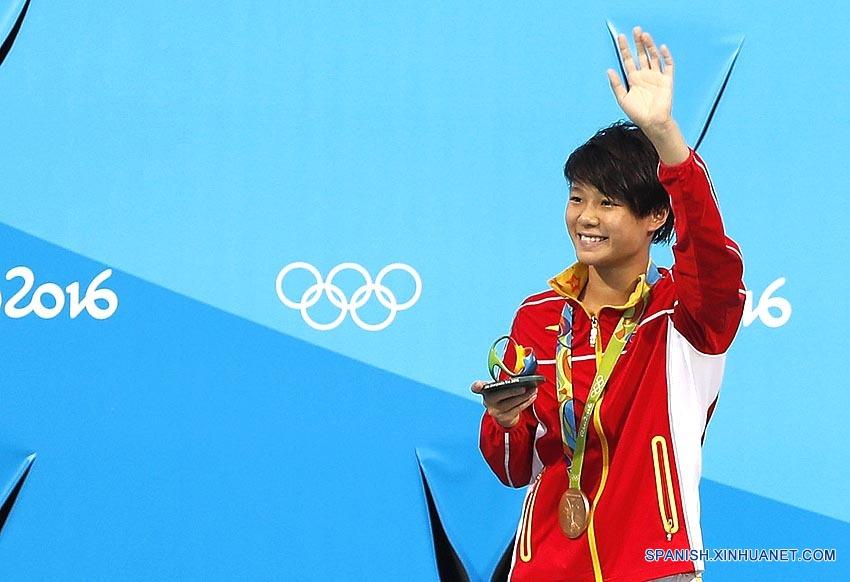 Río 2016: Clavadista china Shi Tingmao consigue su segundo oro en Río