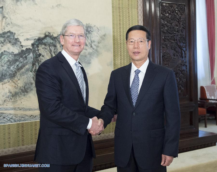 Apple planea ampliar inversión en China