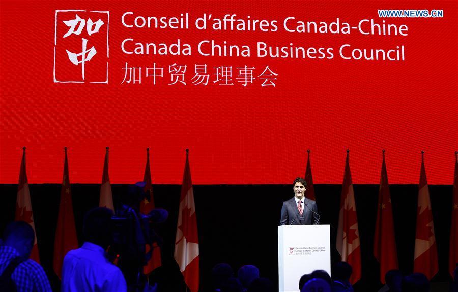 Primer ministro canadiense promueve los lazos económicos con China