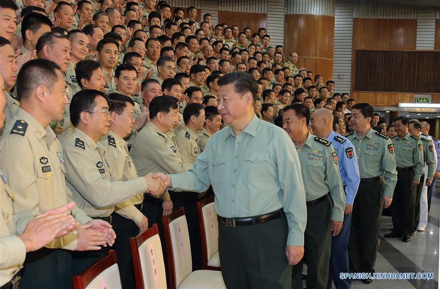 Presidente chino espera fuerza de cohetes poderosa y moderna