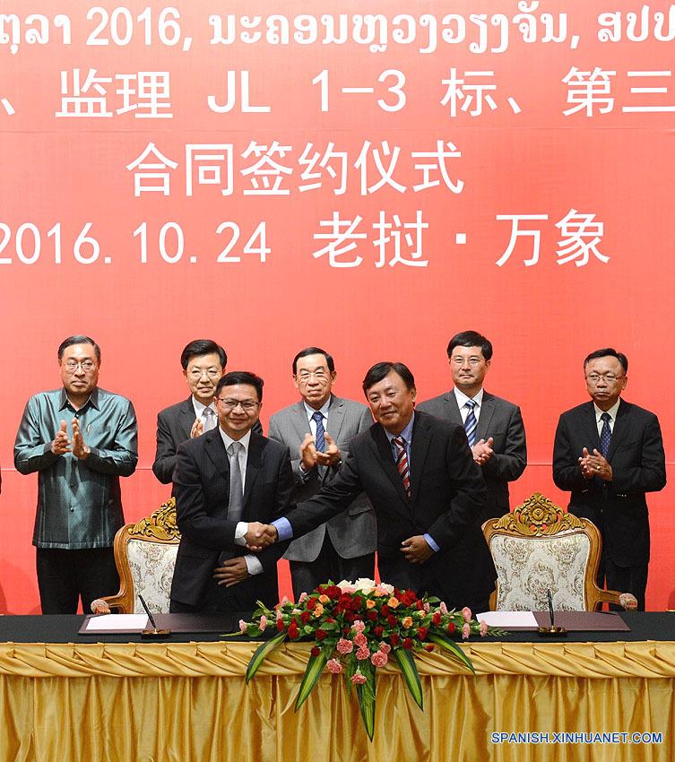 Tren China-Laos se convertirá en proyecto de demostración de estrategia global