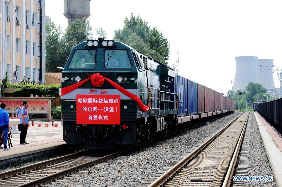Transporte ferroviario de carga de China crece 8,2 % en febrero