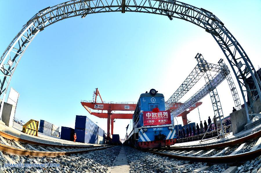 Xi'an inicia servicio de tren de mercancías a Moscú