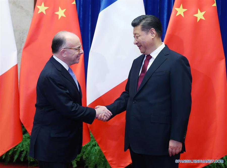 China y Francia acuerdan promover relaciones