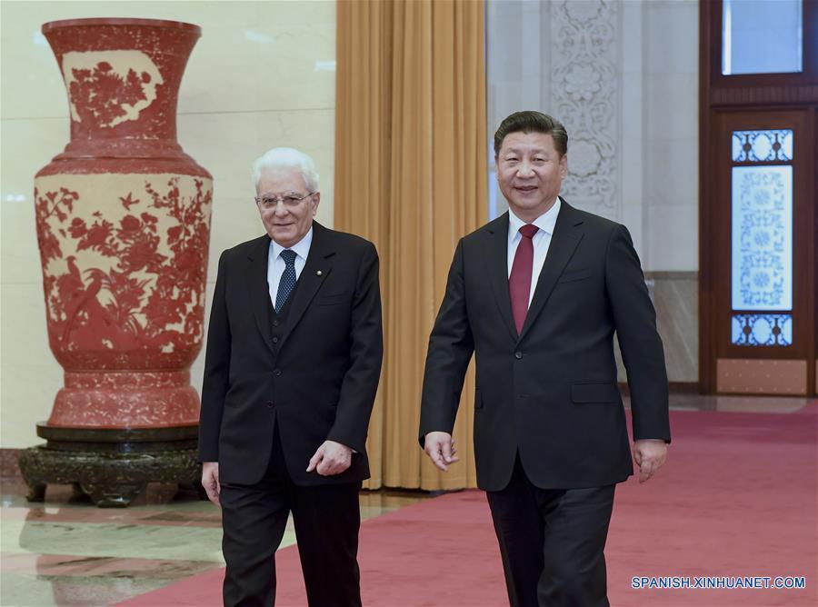 China e Italia prometen fortalecer sus relaciones