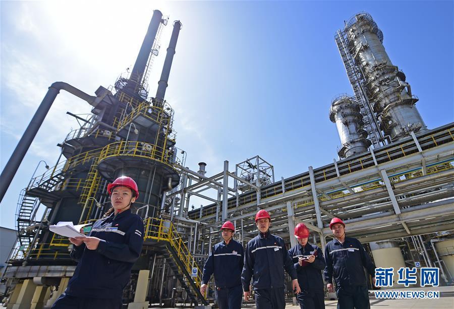 Acelerada actividad industrial refleja expansión de economía de China