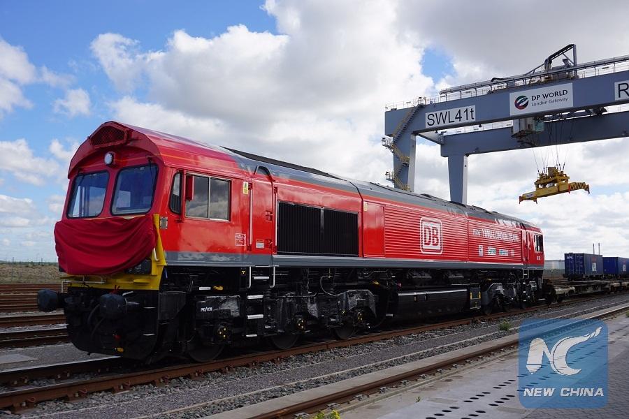 Parte de Londres primer tren de carga directo a China