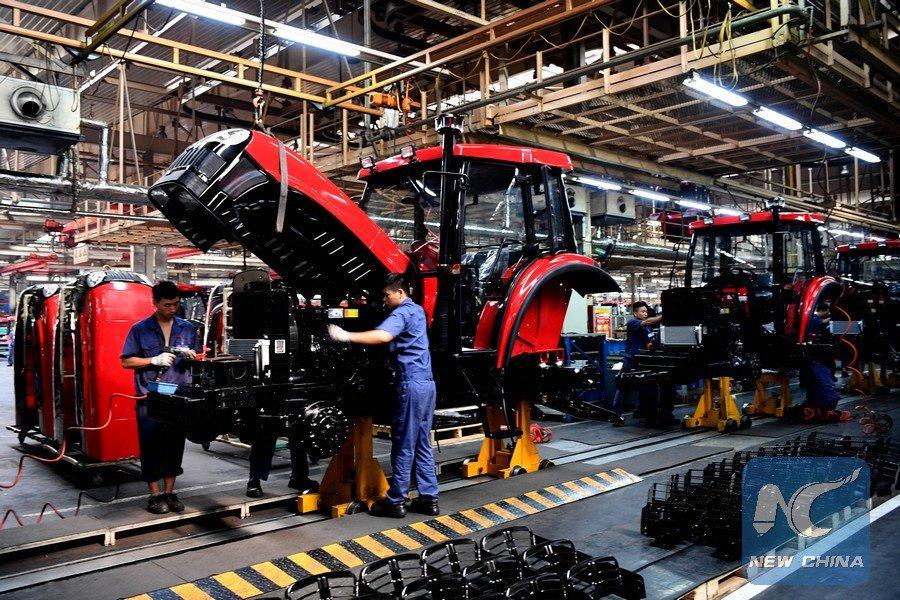 Ganancias industriales de China continúan aumentado a doble dígito en marzo
