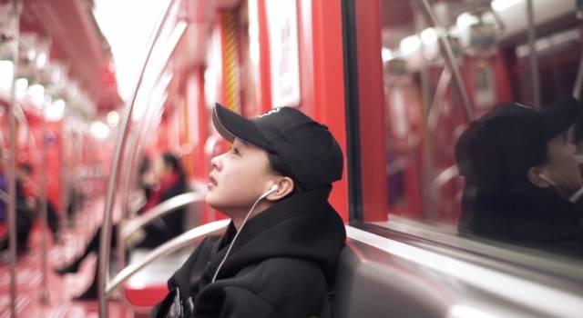 En Hangzhou: El metro rojo del sentimentalismo anónimo
