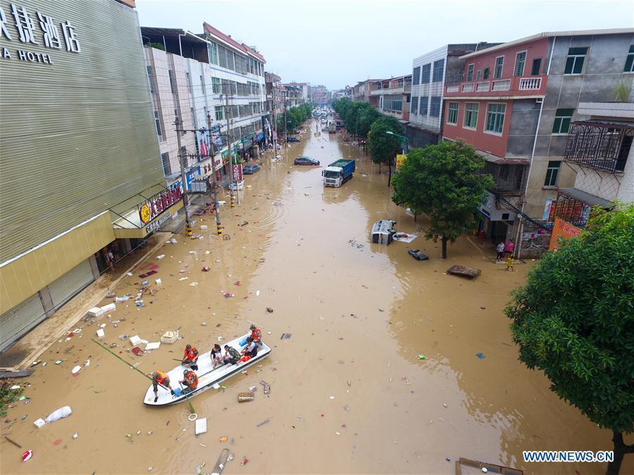 Beijing está en alerta por fuertes lluvias