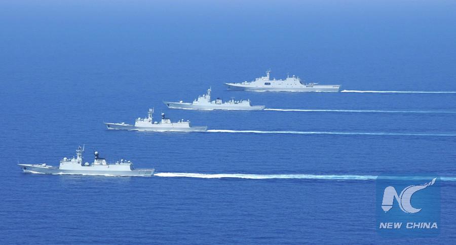 Fuerza aérea china inicia ejercicios de combate regulares