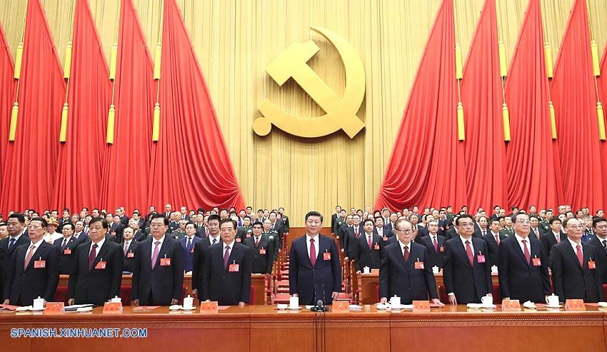 (Congreso PCCh) Xi saluda gran futuro para la nación china