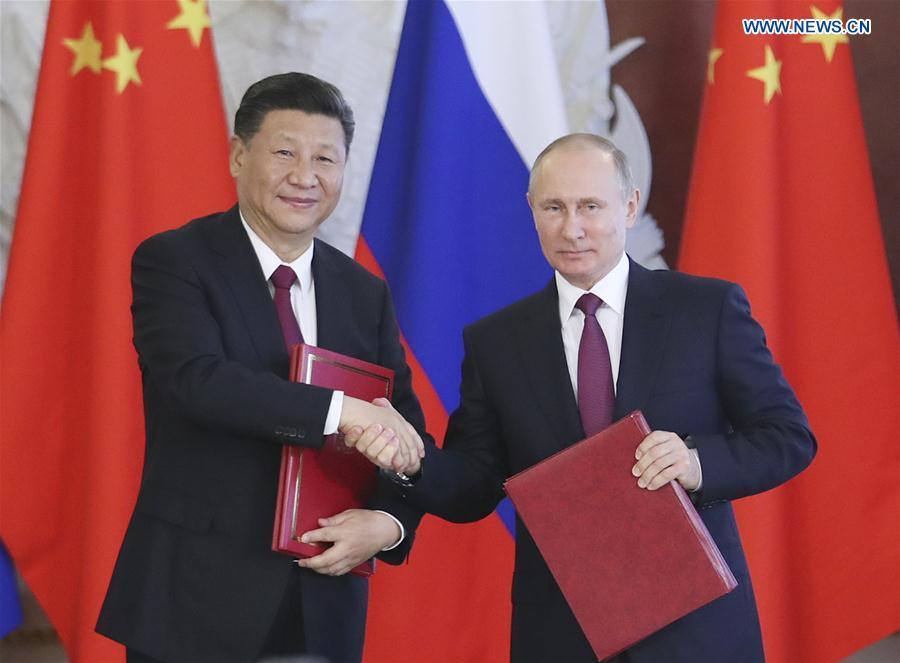 Presidentes de China y Rusia conversan por teléfono sobre relaciones