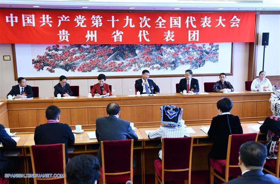 (Congreso PCCh) Xi pide promover socialismo con peculiaridades chinas de la nueva época