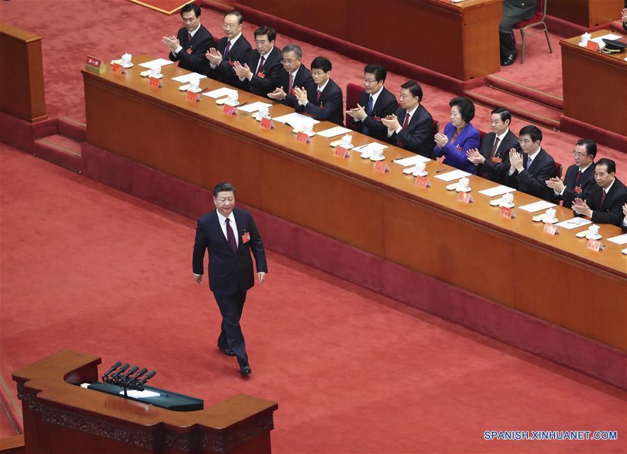 (Congreso PCCh) ESPECIAL: Xi charla con delegados