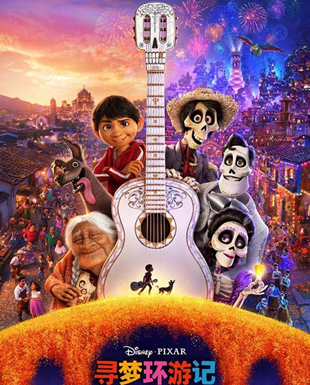 """Coco"" sigue dominando taquilla china"