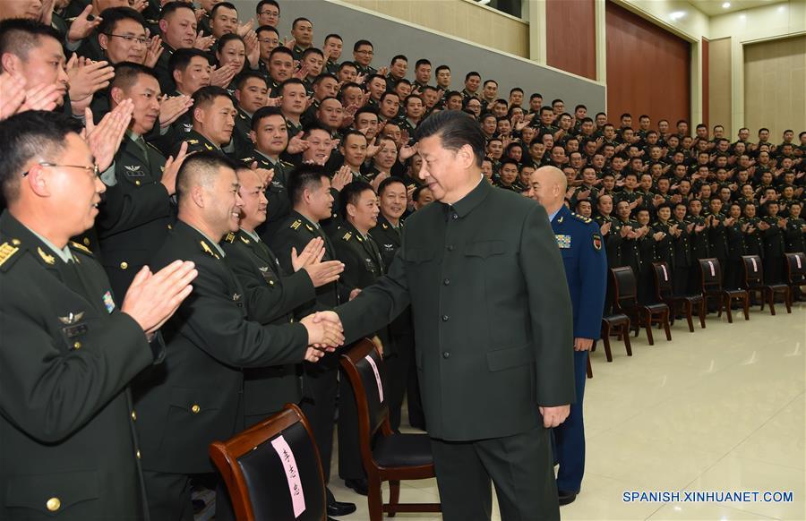 Presidente chino enfatiza reestructuración del Ejército para aumentar capacidad de combate