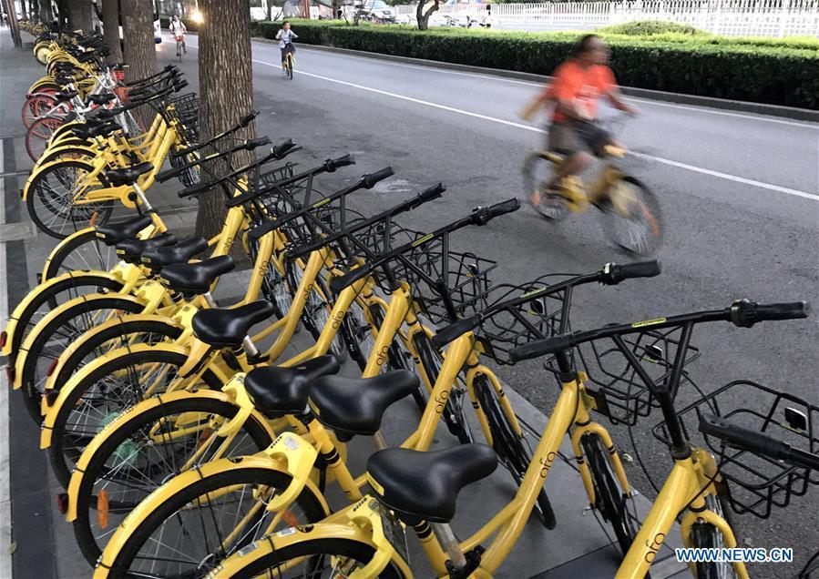 Bicicletas compartidas ayudan a descongestionar tráfico en Beijing en 2017