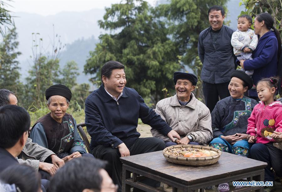 Presidente Xi recién elegido dirige a China hacia la prosperidad
