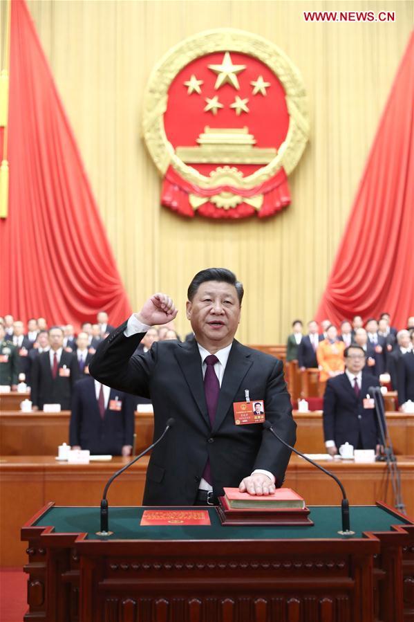 (Dos sesiones)Enfoque de China: Xi Jinping elegido presidente de China y de Comisión Militar Central por unanimidad