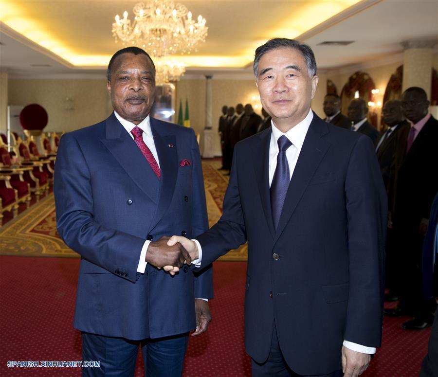 Máximo asesor político chino visita República de Congo
