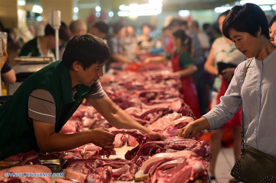 IPC de China sube 2.1% en julio
