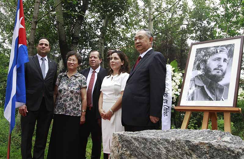 Conmemoran en Beijing el 92 aniversario del natalicio de Fidel Castro