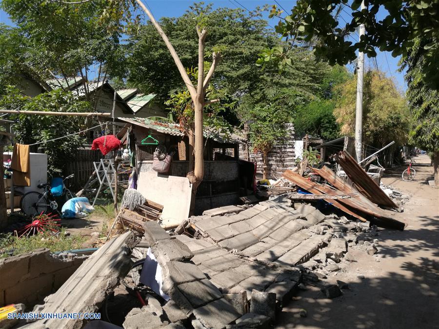 Son ya 91 los muertos y 209 los heridos por terremoto de magnitud 7 en Indonesia