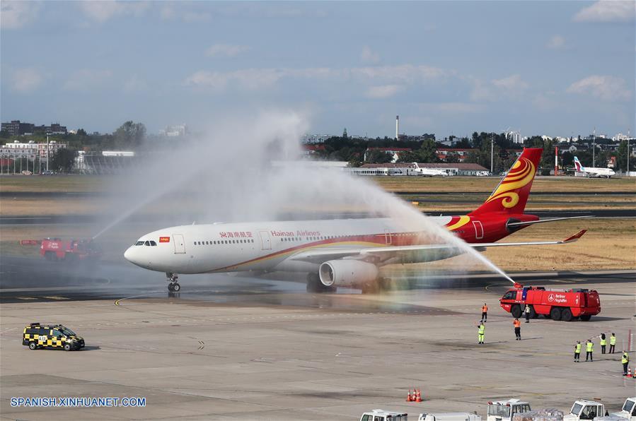 Hainan Airlines celebra décimo aniversario de vuelos directos Berlín-Beijing
