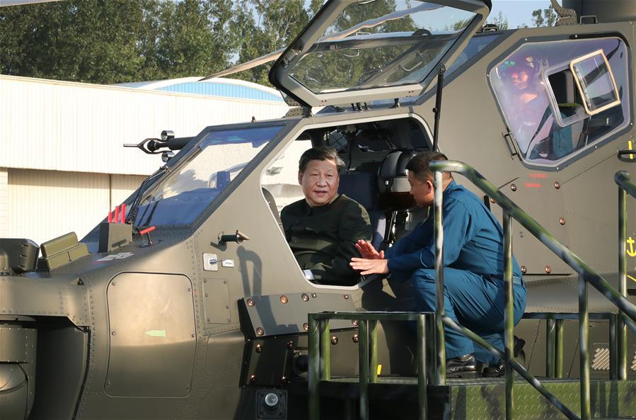 Xi Jinping pasa revista al Ejército y enfatiza su entrenamiento y preparación para la guerra