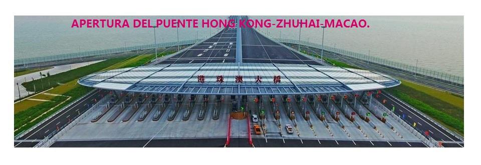 Puente marítimo más largo del mundo abierto al tráfico