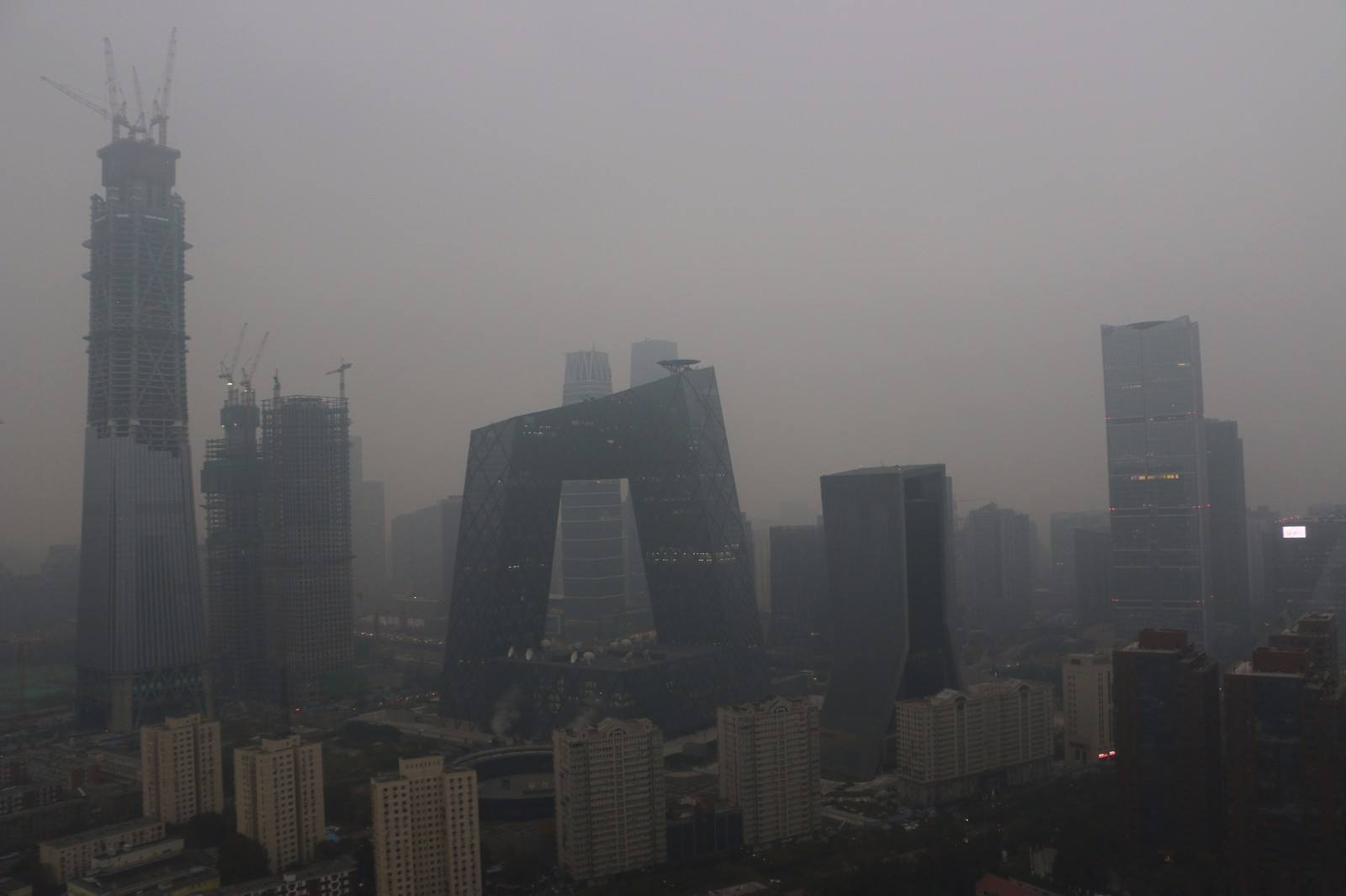 Beijing registra descenso en densidad de PM 2.5 de enero a septiembre