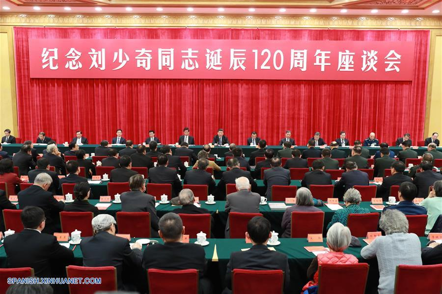 PCCh celebra simposio con motivo de 120º aniversario de nacimiento de Liu Shaoqi