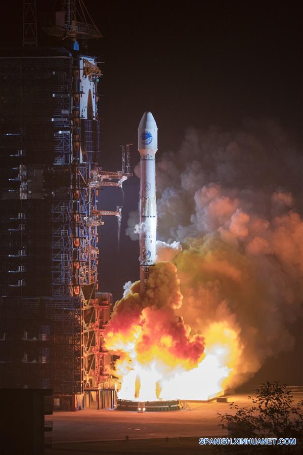 China lanza dos satélites de navegación BeiDou