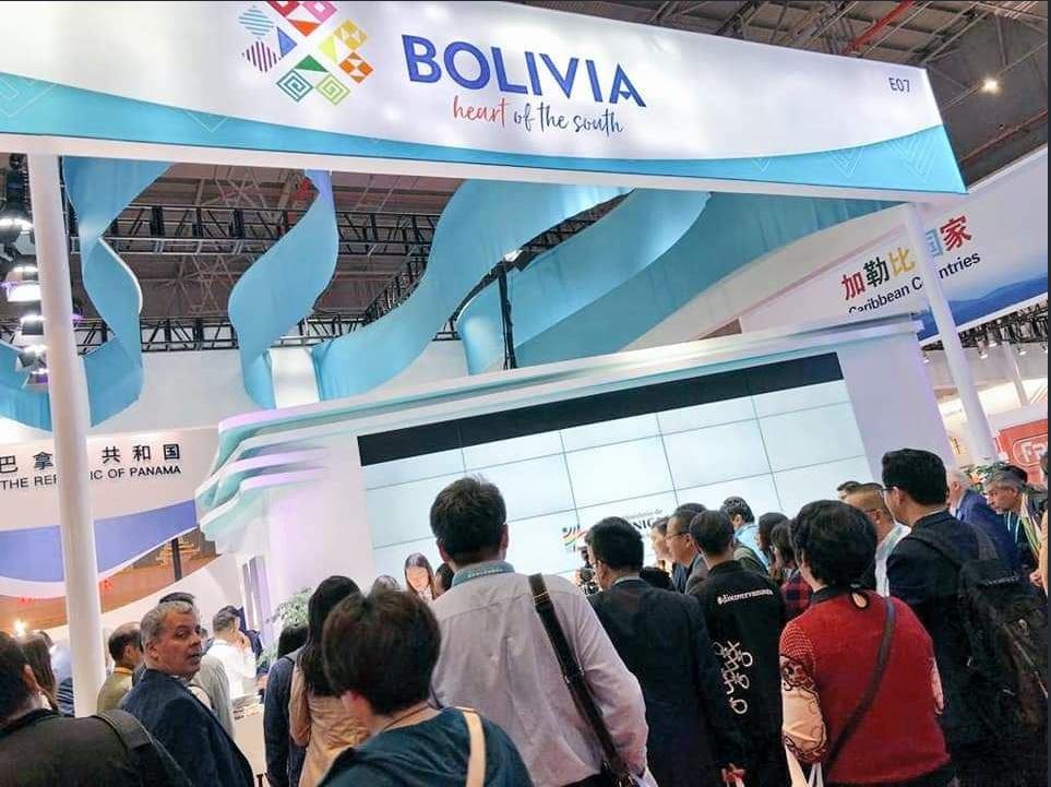 Quinua real orgánica se abre camino en CIIE en Shanghai de la mano de inversores chinos en Bolivia