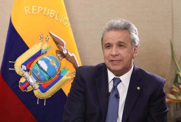 """Presidente de Ecuador: """"China ha mostrado al mundo el éxito en estos 40 años"""""""